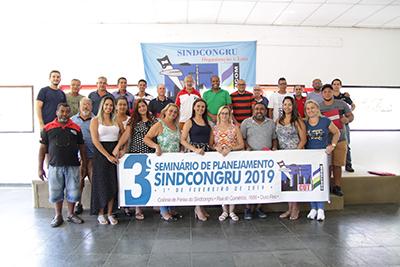 3º Seminário de Planejamento SINDCONGRU 2019